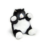 Black and White Cat Plumpee (Small)