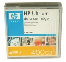 C7972A - HP Ultrium LTO-2 Data Cartridge - LTO Ultrium LTO-2 - 200GB (Native) / 400GB (Compressed) - 1 Pack-C7972A
