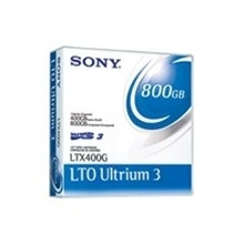 LTX400G - Sony LTO Ultrium 3 Data Cartridge - LTO Ultrium LTO-3 - 400GB (Native) / 800GB (Compressed)-LTX400G