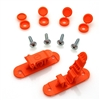Skid Clamp Assembly 8.0mm Orange