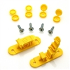 Skid Clamp Assembly 8.0mm Yellow