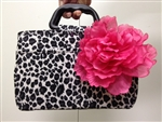 Bee Bag Handbag Organizer with flower clip