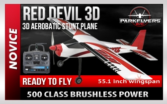 Red Devil 500  RC Plane