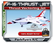 F-16 Thrust Vectoring RC Jet