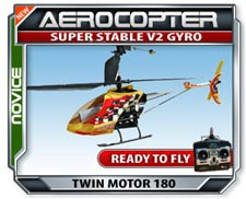 Aercopter Dual Rotor RTF Helicopter