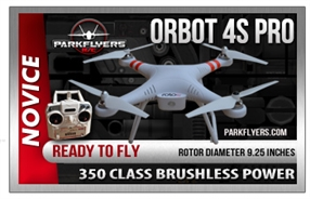 Orbot 4S Pro Quadcopter / Drone