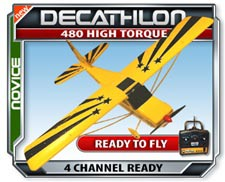 Decathlon RTF Electric RC Plane