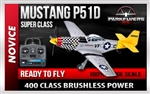 Mustang P51-D Large Scale RTF RC Plane