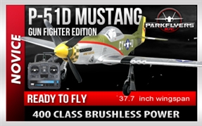 Mustang P51-D Gunfighter Large Scale RTF RC Plane