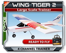 Wing Tiger RTF RC Plane
