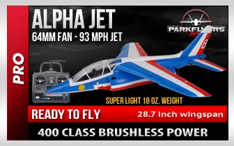 Alpha Jet Rc Airplane RTF