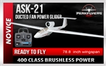 ASK-21 Electric RC Glider RTF