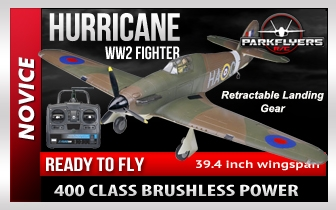 Hurricane Fighter WW2 RC Plane