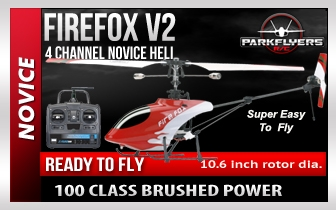 Firefox SR RTF Electric RC Heli