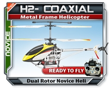 H2 Coaxil Trainer RC Helicopter