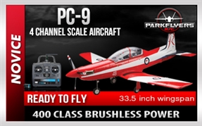 PC-9 - 4 Channel RC Trainer