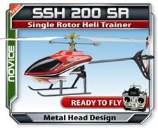 SSH 200 Single Rotor Helicopter Trainer