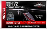 SSH 200 V2 Single Rotor Helicopter Trainer