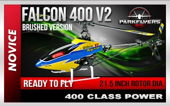Falcon 400 Trainer RC Heli RTF