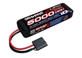 2842X - 5000mAh 7.4v 2-Cell 25C LiPo Battery