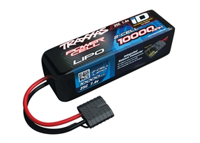 2854X - 10000mAh 7.4v 2-Cell 25C LiPo Battery