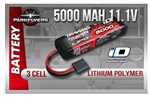 5000mAh 11.1v 3-Cell 25C LiPo Battery