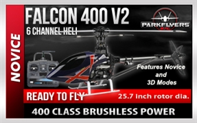 Falcon 400 V2 RC Helicopter Trainer  RTF