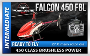 Falcon 450 Flybarless RC Helicopter RTF