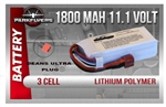 3 Cell 11.1 Volt 1800 Mah Lipoly Battery