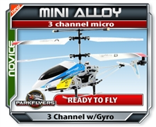 Mini Racing Alloy RC Helicopter