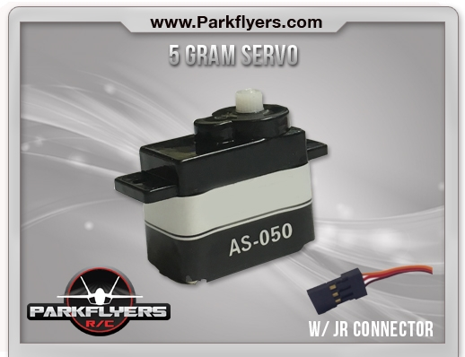5 Gram Servo w/JR Connector - RC Airplanes