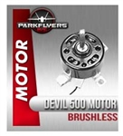 Red Devil 500 Class Outrunner Brushless Motor