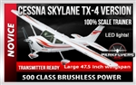 Cessna 182 Skylane Select Scale EP Tx-R