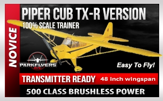 Piper Cub Select Scale EP Tx-R