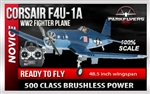Corsair F4U-1A Select Scale RTF 2.4GHz