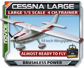 Cessna Large Scale RTF RC Plane