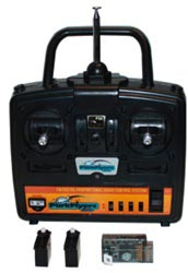 Parkflyers 4 Ch FM Radio Set with (2) AS-100 servos