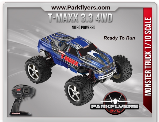 Traxxas T-Maxx 3.3 1/10 Scale 4WD Monster Truck