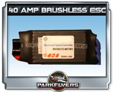 Parkflyers 40 Amp Brushless ESC