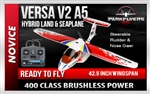 Versa V2 A5 Hybrid Land & Sea RC Electric Airplane