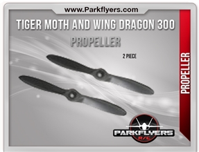 Tiger Moth and Wing Dragon 300 Propeller