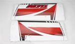 Red Devil 500 Class Main Wing Set