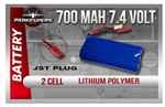 800mah 7.4 Volt Lipoly Battery