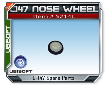 Splinter Cell C147 Front Wheel
