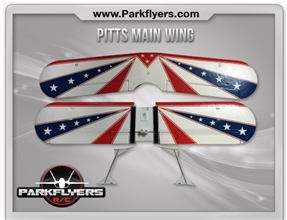 Pitts Biplane Main Wing Set