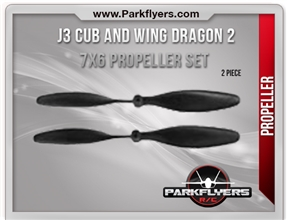 J3 Cub/Wing Dragon 2 Prop Set