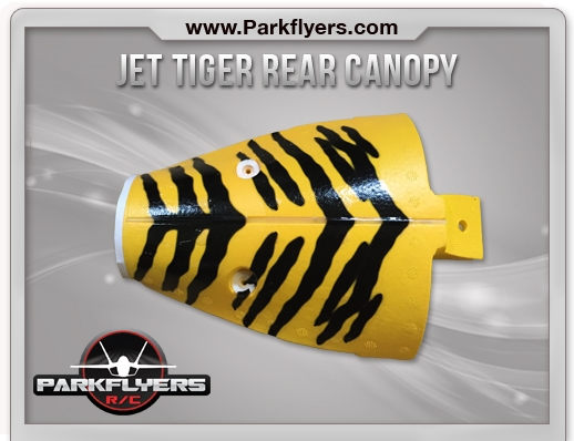 Jet Tiger Rear Canopy