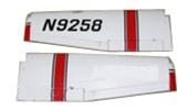 Cessna 1/5 Scale Super Class Main Wing Set