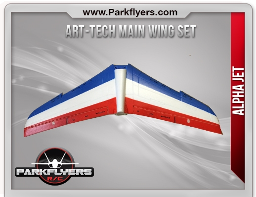 Alpha Jet Main Wing Set