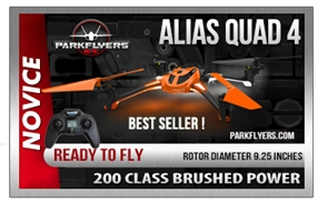 Alias Quadcopter RTF 2.4GHz TRA6608